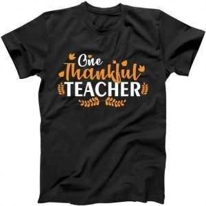 One Thankful Teacher tee shirt