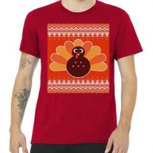 Thanksgiving Cute Turkey Ugly tee shirt
