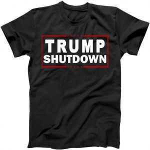 Trump Shutdown Logo tee shirt