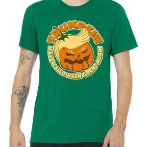 Trumpkin Make Halloween Great Again tee shirt