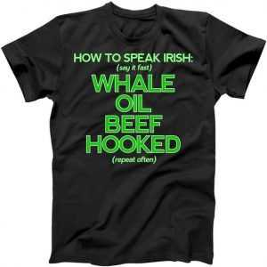 Whale Oil Beef Hooked tee shirt