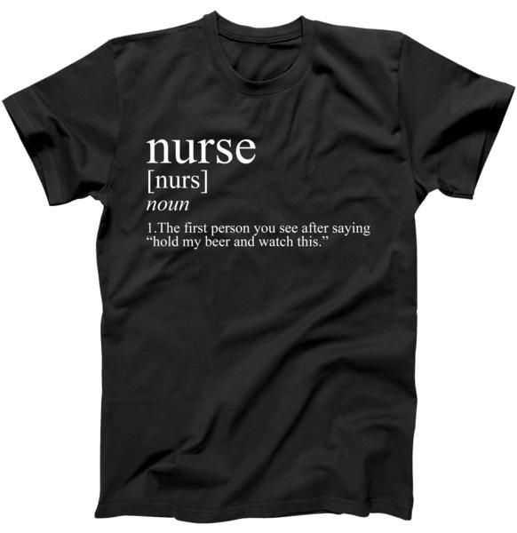 Funny Nurse Definition tee shirt