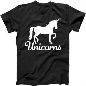 Unicorn Logo tee shirt