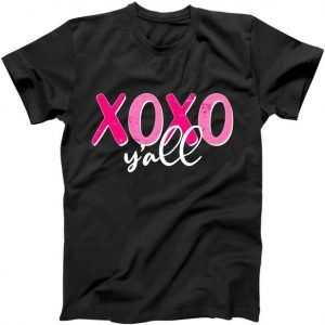 XOXO Y'all Valentines Day tee shirt