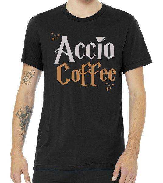 Accio Coffee tee shirt