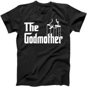 The Godmother Logo tee shirt