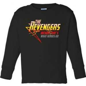 The Revengers Toddler Long Sleeve tee shirt