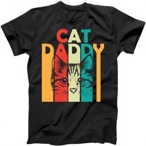 Retro Cat Daddy tee shirt