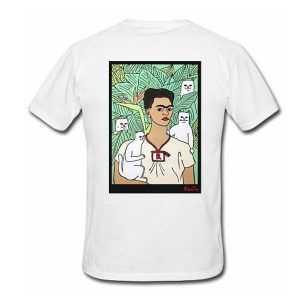 Frida Kahlo Rip N Dip tee shirt