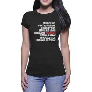 Alife-Lyrics-to-go-T-Shirt-For-Women-and-Men-S-3XL