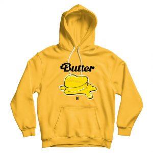 Korean K-POP BTS 'Butter' 2021 Official Hoodie For Unisex