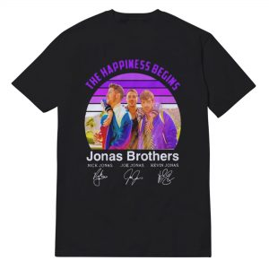 Jonas Brothers Happiness Begins Tour Nick Jonas T-Shirt Unisex