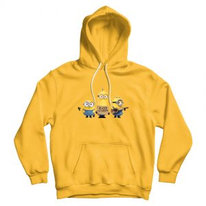 Despicable Me Minion I'm With Stupid Hoodie