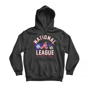 Atlanta Braves National League Champions Hoodie