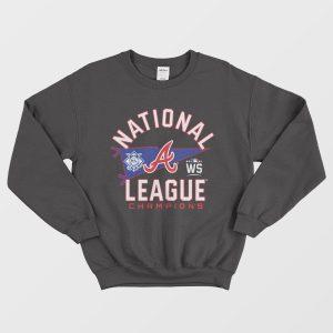Atlanta Braves National League Champions Sweatshirt