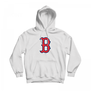 Boston Red Sox Authentic Logo Hoodie