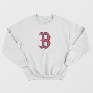 Boston Red Sox Authentic Logo Sweatshirt