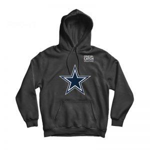 Dallas Cowboys Crucial Catch Intercept Cancer Hoodie