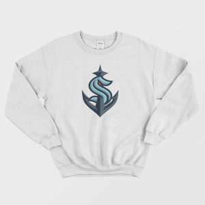 Seattle Kraken Official Combined Logo Sweatshirt